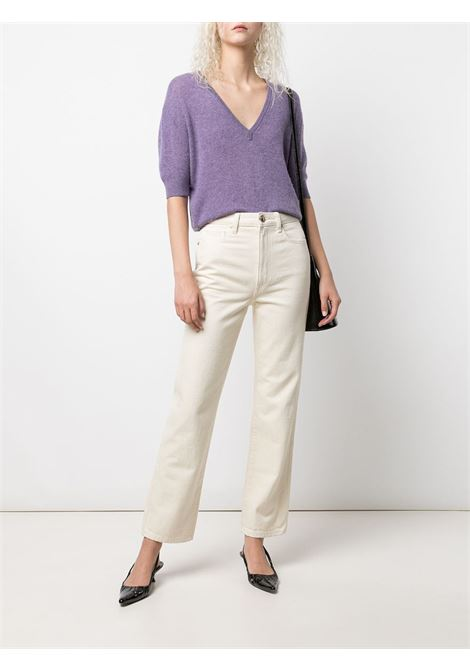 The Abigail straight-leg jeans in ivory - women  KHAITE | 1071051