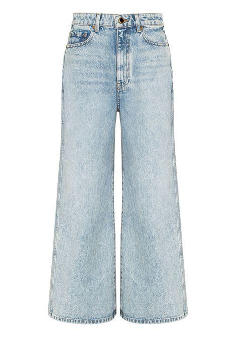 The ella wide-leg cropped jeans - women KHAITE | 1073050