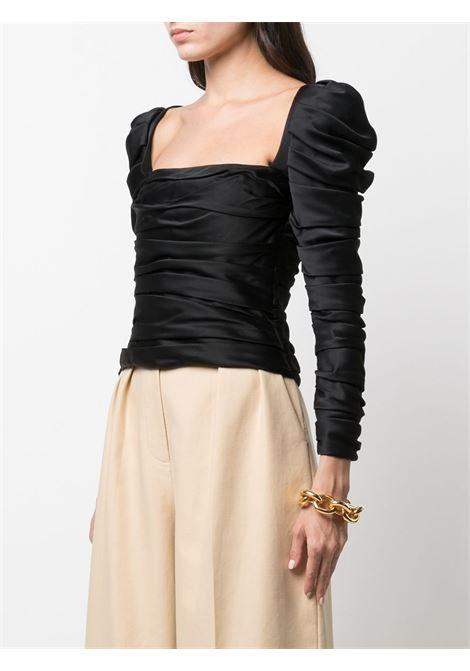 Shawna square-neck top in black - women  KHAITE | 2163401200