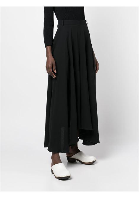 The Virginie flared trousers in black - women  KHAITE | 3082318200