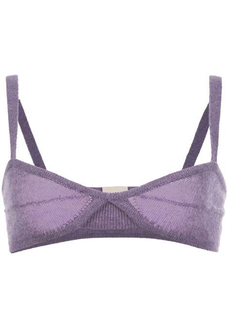 Edra top in amethyst purple - women  KHAITE | 8252605803