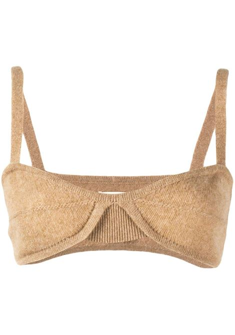 Eda top in brown - women  KHAITE | 8252605910