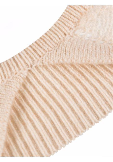Eda top in cream - women  KHAITE | 8252605953