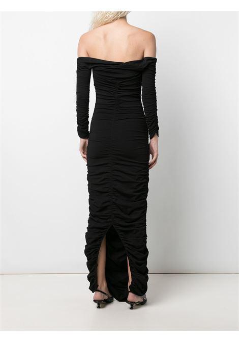 The lydia draped dress in black - women  KHAITE | 8610400200
