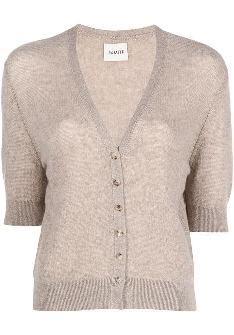 Light brown The Dusk cashmere cardigan - women  KHAITE | 8614605120
