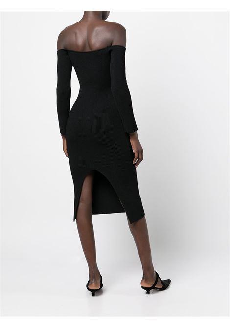 Black The Matilda bustier knitted dress - women  KHAITE | 8704400200