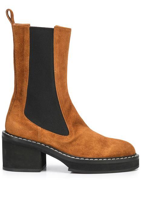 Caramel brown The Calgary 30.5mm boots - women  KHAITE | F1015726902