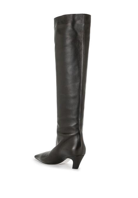 Davis knee-high boots in black - women  KHAITE | F2001712200