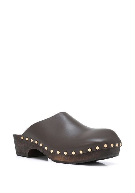 Dark brown The Lucca mules - women KHAITE | F6002722925