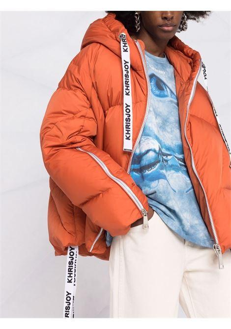 Piumino puff khris iconic in arancione - donna KHRISJOY | AFPW001NYBO54