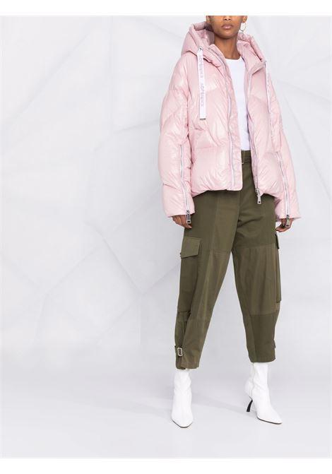 Piumino puff khris iconic in rosa antico - donna KHRISJOY | AFPW001NYLAR172