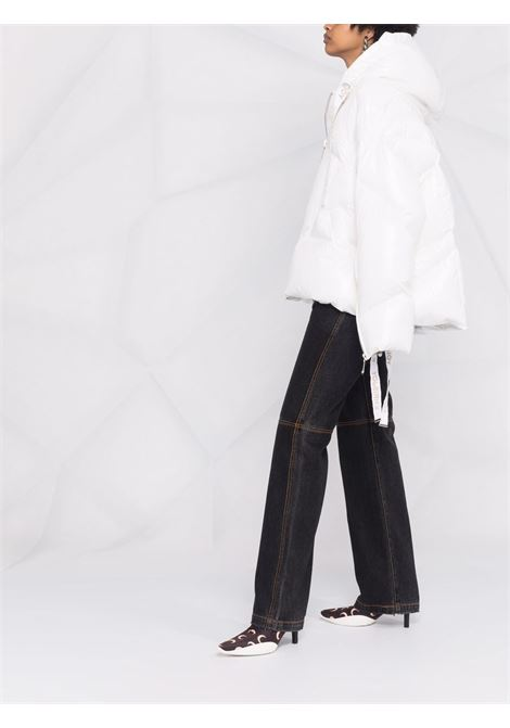 Gilet puff khris iconic in bianco - donna KHRISJOY | AFPW003NYLWH03