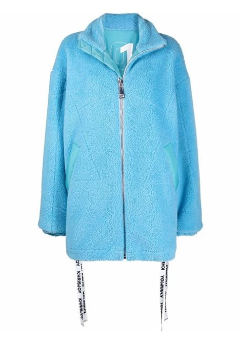 Cappotto I'll Wear You Everyday Pile in azzurro - donna KHRISJOY | CFPW025PILELBL136