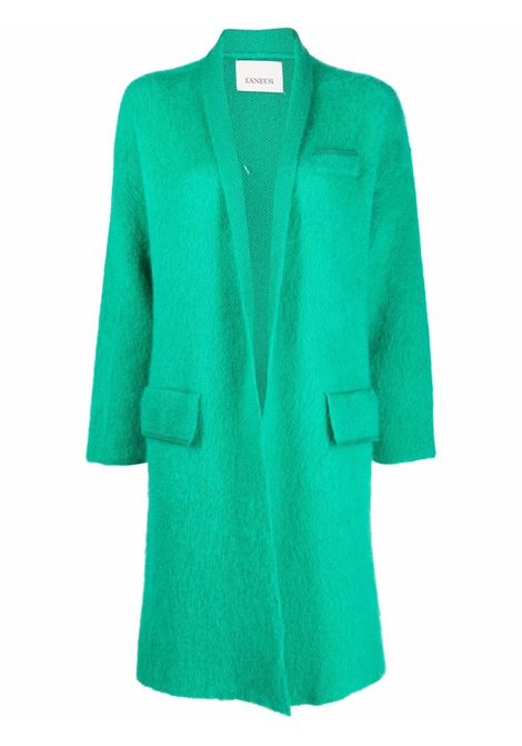 Green open-front knitted coat - women  LANEUS   CPD1204143
