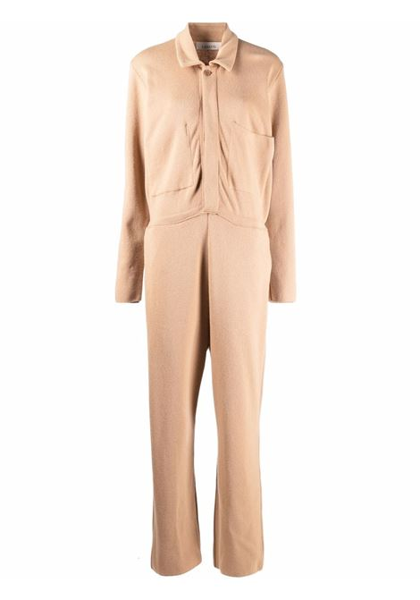 Camel -brown knitted jumpsuit - women  LANEUS   TTD120429953