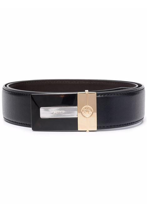Cintura regolabile nero- uomo LANVIN | AMBEMB0JNAPA10
