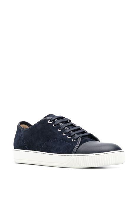 Sneakers con pinta a contrasto blu - uomo LANVIN | FMSKDBB1ANAP29