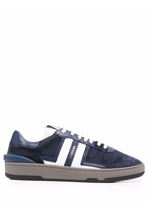 Sneakers clay in mesh in blu e bianco - uomo LANVIN | FMSKDK00NASH2900