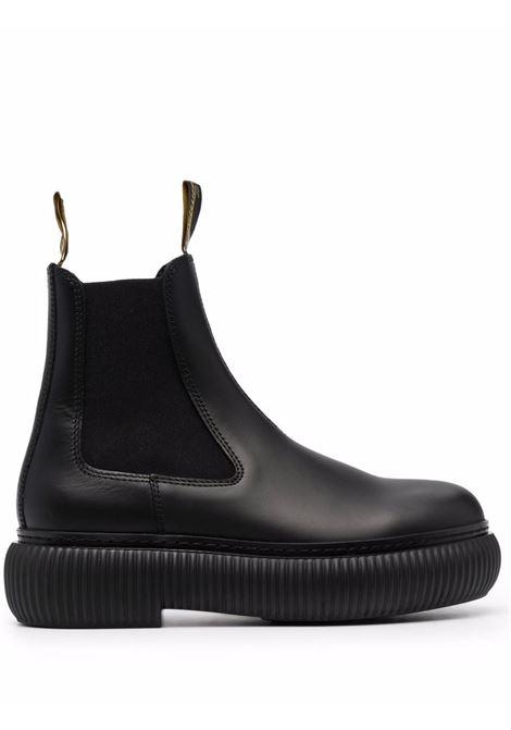 Round toe ankle boots black- women LANVIN | FWBOLI01GRIF10
