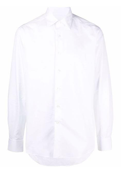Camicia aderente in bianco - uomo LANVIN | RMSI0027S00501