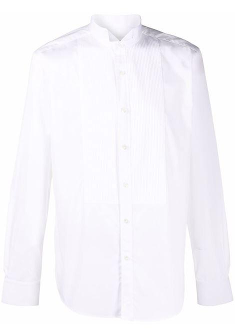 Camicia con pettino in bianco - uomo LANVIN | RMSI0035S00501