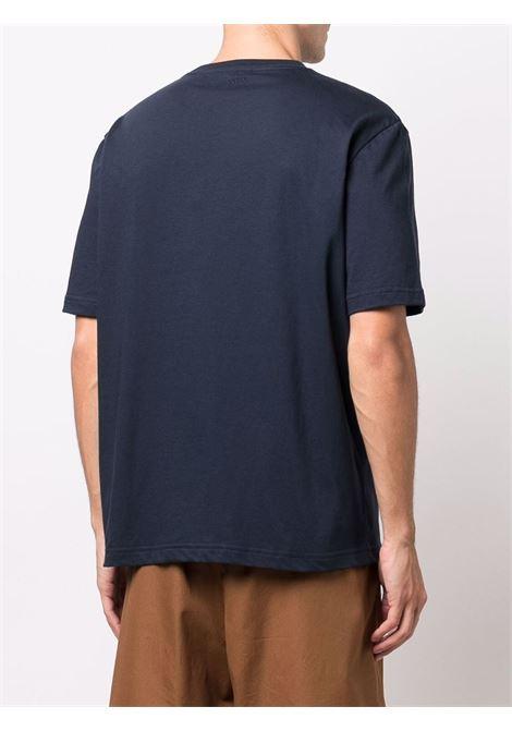 T-shirt a maniche corte navy blue- uomo LANVIN | RMTS0002J121291