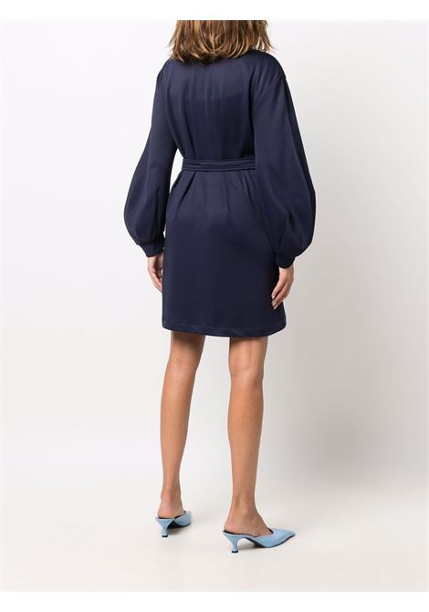 Belted dress navy blue- women LANVIN | RWDR0069J03929