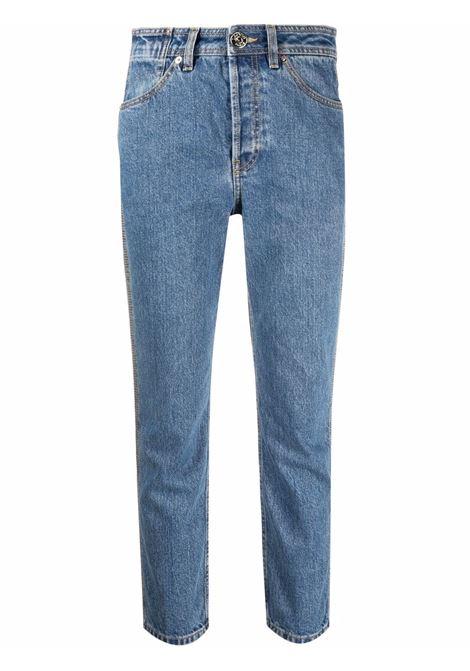 Cropped jeans blue- women LANVIN | RWTR0030D00922