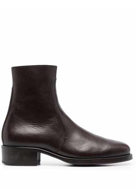 Stivali con zip in marrone - uomo LEMAIRE   M213FO306LL185449