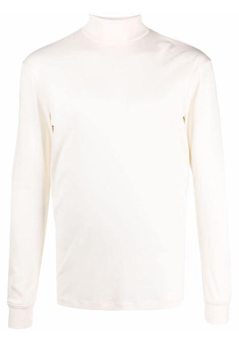 T-shirt a maniche lunghe in bianco - uomo LEMAIRE | M213JE300LJ060000