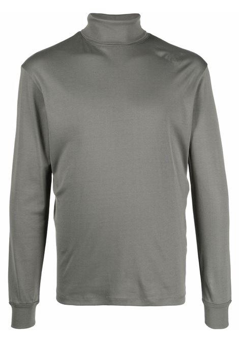 T-shirt a maniche lunghe in grigio - uomo LEMAIRE | M213JE300LJ060985