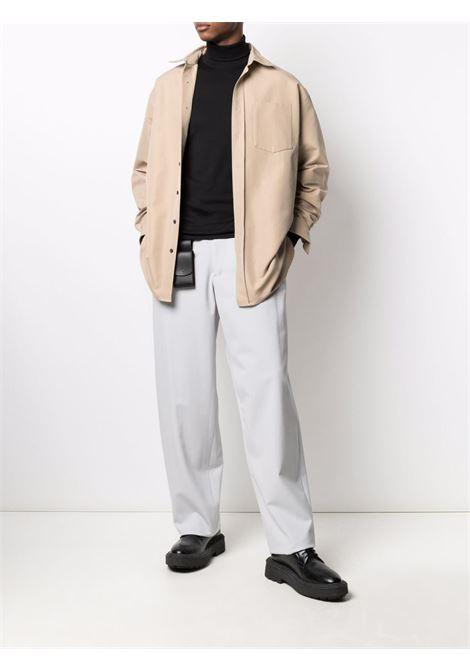 T-shirt a maniche lunghe in nero - uomo LEMAIRE | M213JE300LJ060999