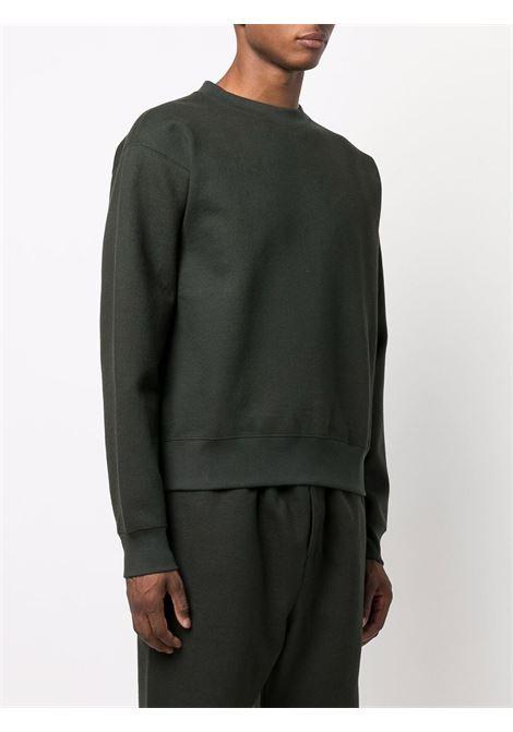 Felpa an girocollo verde scuro- uomo LEMAIRE | M213JE303LJ069929