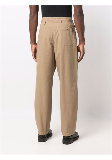 Pantaloni dritti con cintura in beige - uomo LEMAIRE   M213PA171LF288460