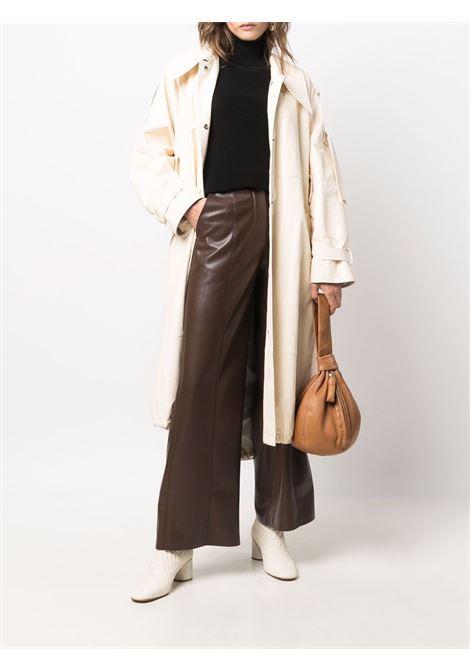 Black white roll-neck ribbed-knit jumper - unisex LEMAIRE | X213KN316LK111999