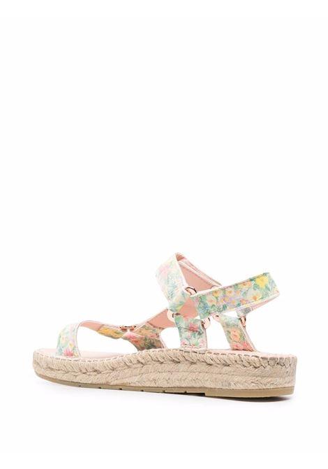 Floral-print sandals multicolored - women LOVE SHACK FANCY LOVES MANEBI | L61JHRNBWSKS