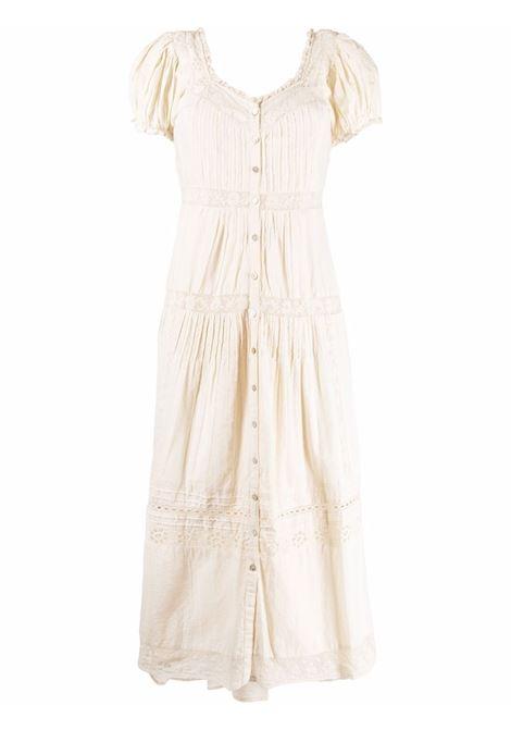 Ivory white floral-lace detail dress - women  LOVESHACKFANCY | D1272898IVR