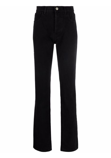 High-rise flared jeans in black - women  MAGDA BUTRYM | 104721BLK