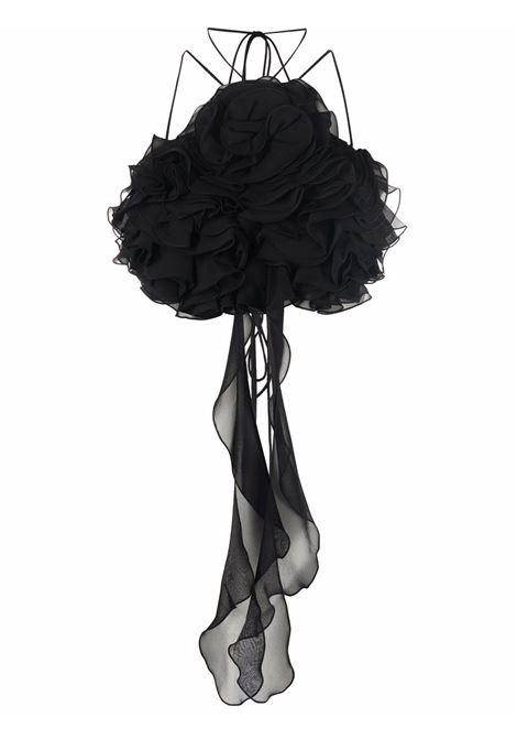 Top con decorazione in nero - donna MAGDA BUTRYM   136921BLK