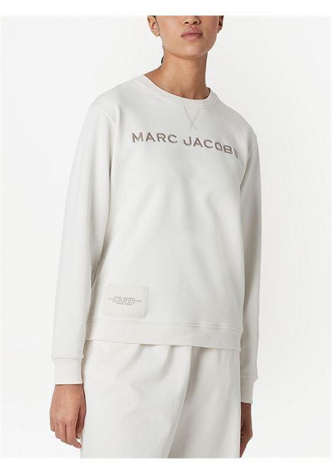 The Sweatshirt' signature sweatshirt in white - women  MARC JACOBS | C604C05PF21177