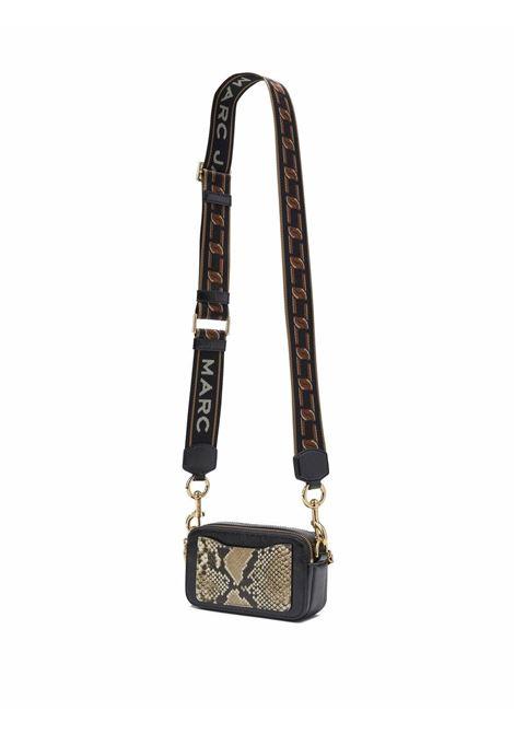 The Snapshot snakeskin-effect bag in cognac brown/multicolour - women  MARC JACOBS | H120L01FA21201