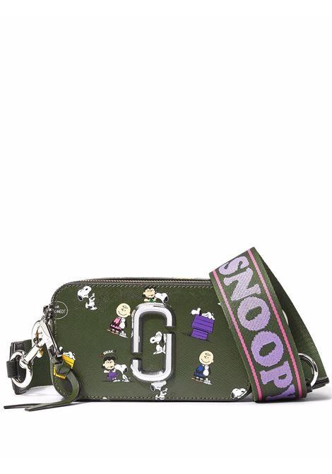 x Peanuts The Snapshot camera bag in khaki green - women  MARC JACOBS | H136L01FA21316