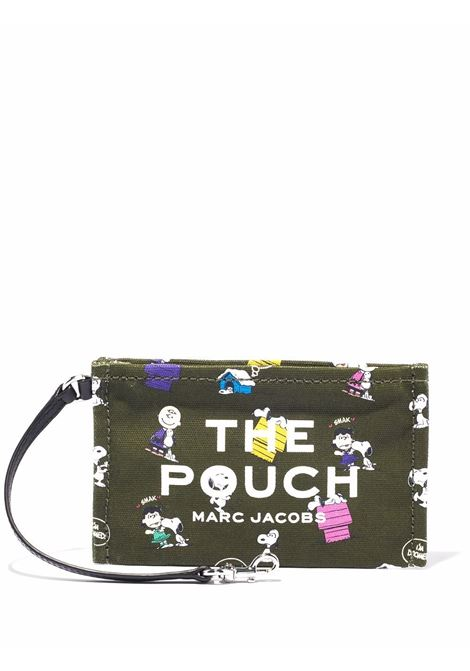 x Peanuts The Pouch make up bag in dark green - women  MARC JACOBS | S208M06FA21316