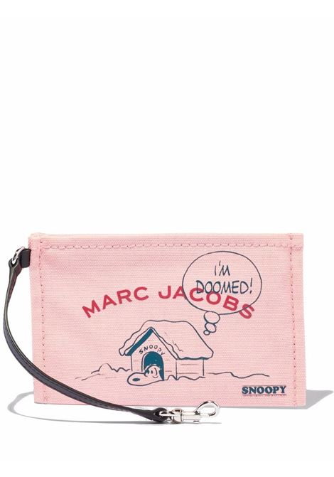 x Peanuts Snoopy make up bag in rose-pink - women  MARC JACOBS | S213M06FA21661