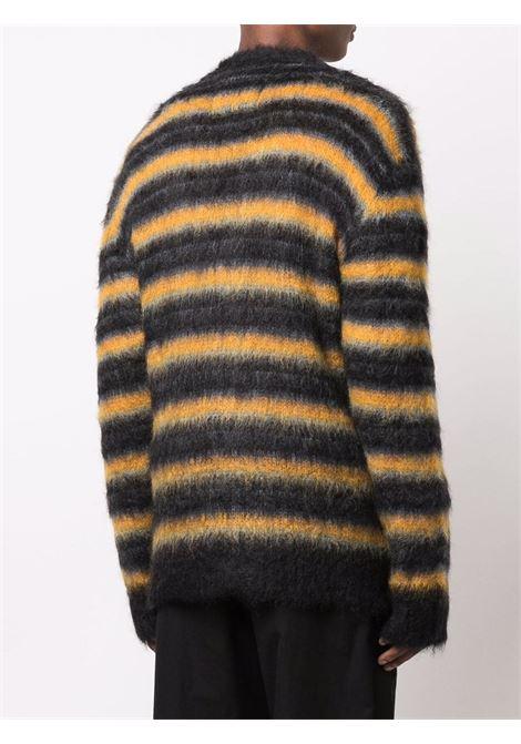 Cardigan a righe multicolore - uomo MARNI | CDMG0051Q0UFU116RGN99