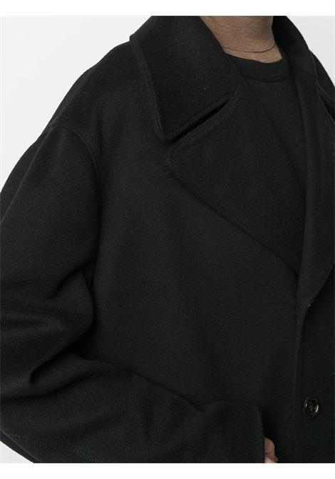 Cappotto doppiopetto in nero - donna MARNI | CPMA0172NUUTW91200N99
