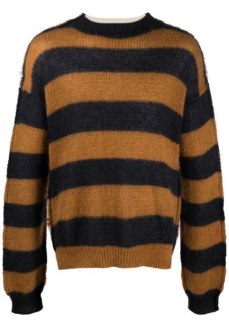 Panelled design jumper men  MARNI | GCMG0204Q0UFU187MXW78