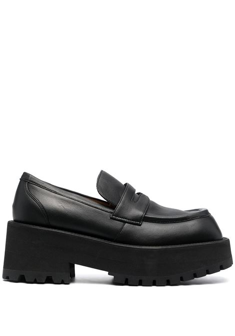 Square-toe loafers men  MARNI | MOMS002506P338700N99