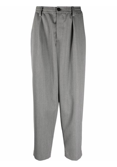 Grey wide-leg  trousers - men MARNI | PUMU0017A0UTW92600N20