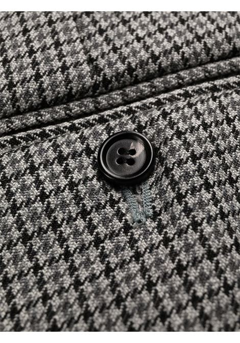 Grey checked straight-leg  trousers - men MARNI | PUMU0091A0UTW910CHN38